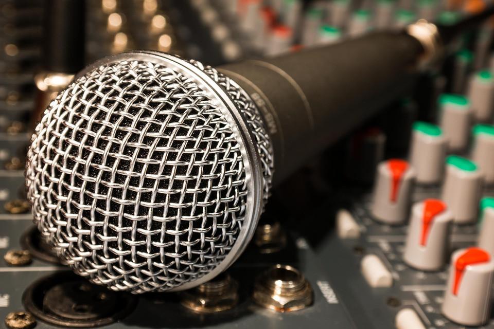 História do Microfone